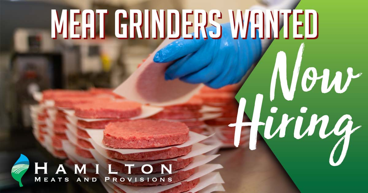 Meat Grinders Wanted